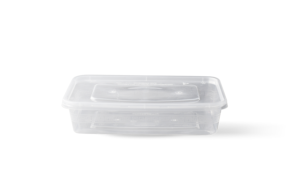 Claer Microwave containers
