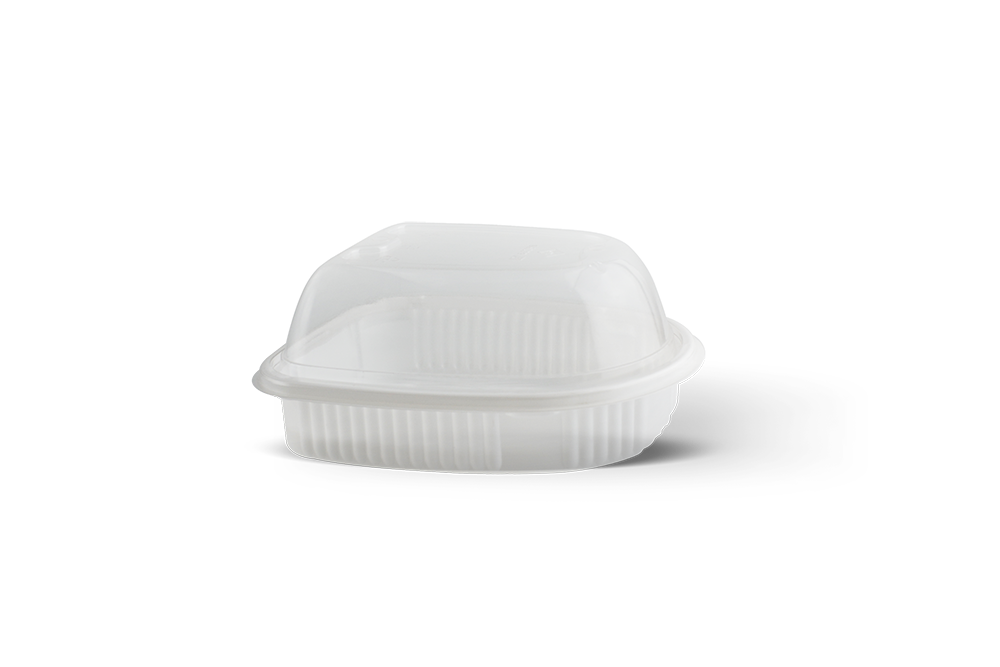 Rectangular Microwave Containers