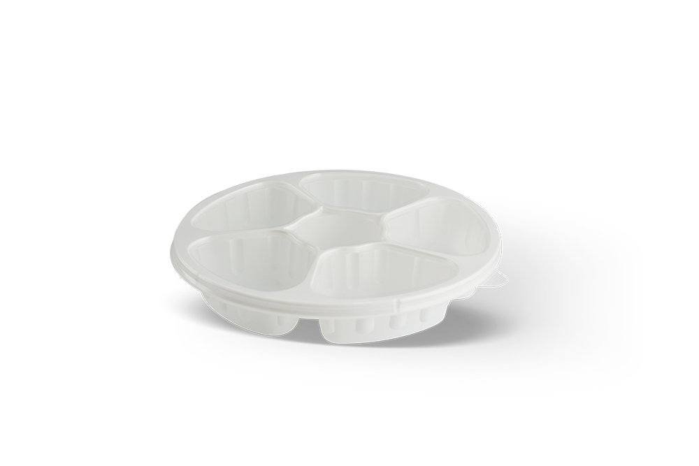 Round Microwave Containers