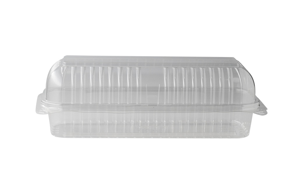 Hot Dog  Clear containers